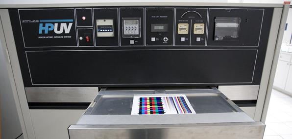 hpuv archival testing print permanence machine