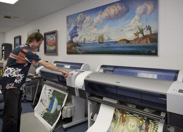 inkjet printmaking tips, tricks, techniques