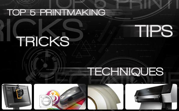 top 5 printmaking tips, tricks, techniques