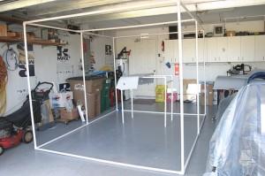 DIY HVLP spray booth