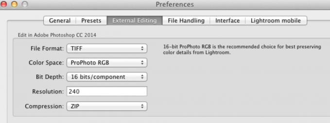 Adobe Lightroom manages color a bit differently than Photoshop.