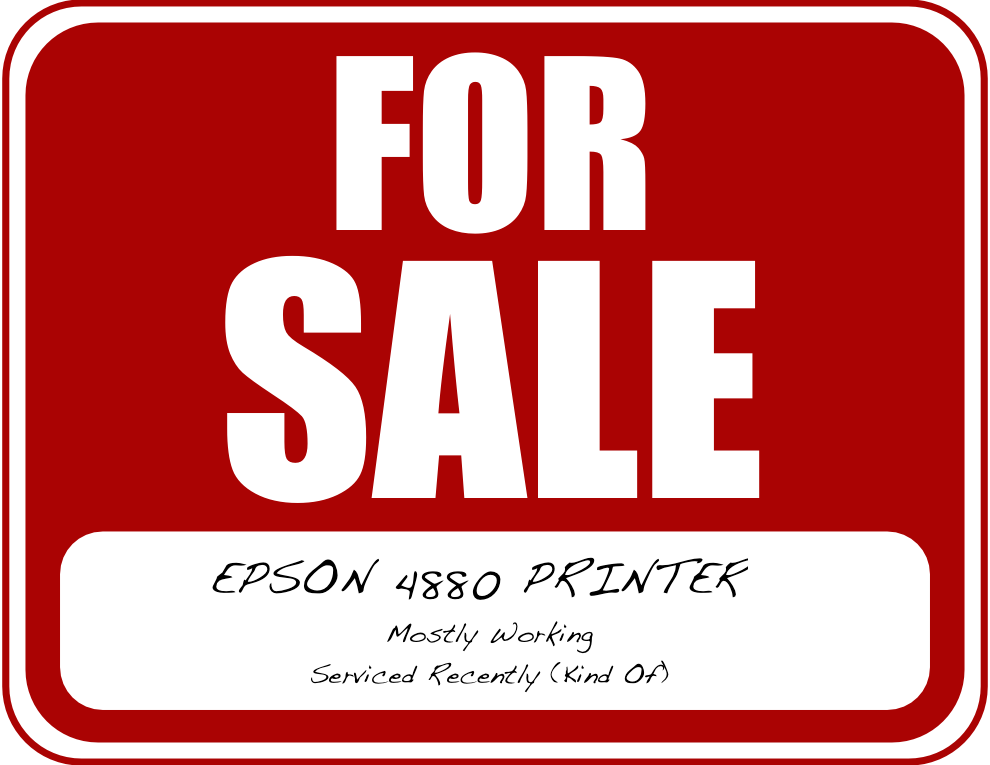 Buying a Used Printer