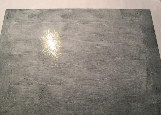 Gator board ready for canvas