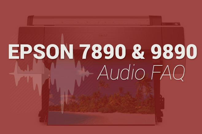 Epson 9890 FAQ