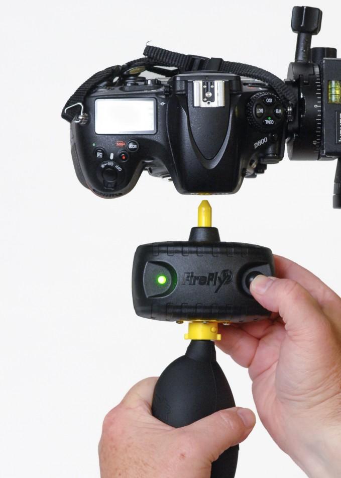 Camera dust