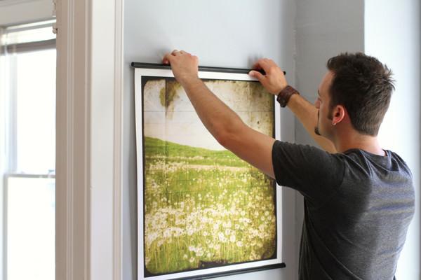 Displaying prints