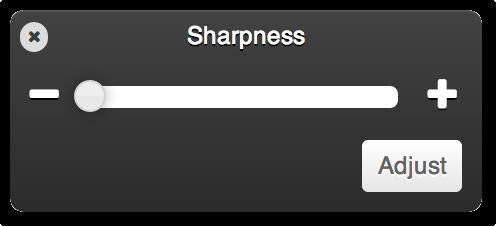Digital sharpness