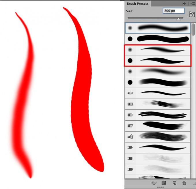 Popular photoshop tools