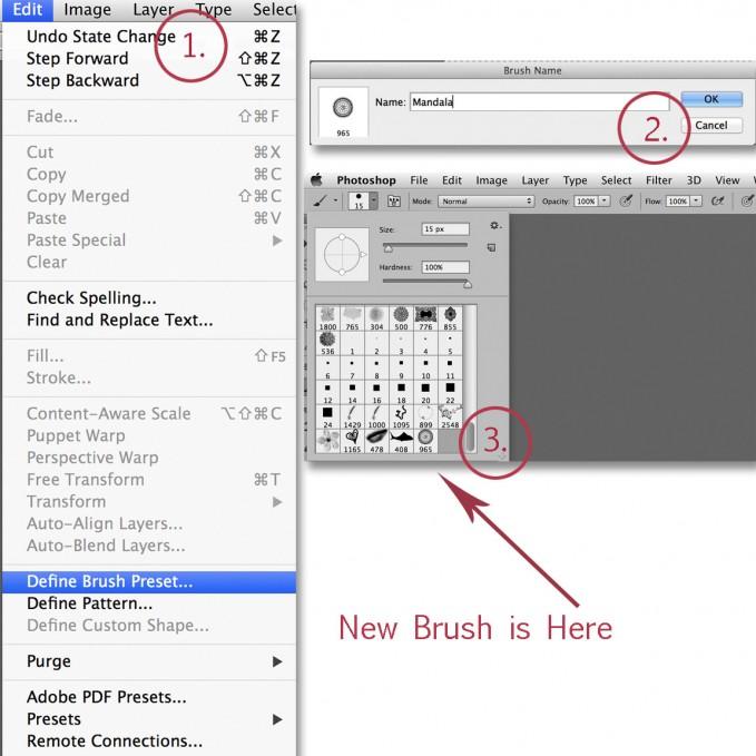 Photoshop new brush