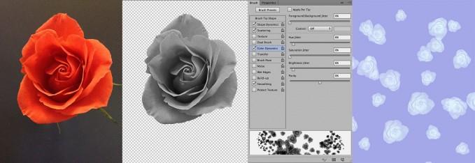 how to create custom photoshop brushes