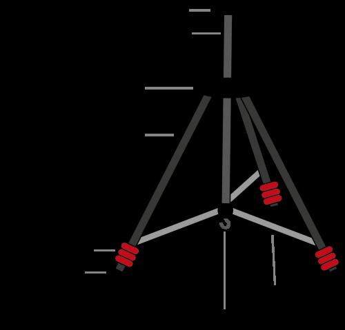 parts of a tripod