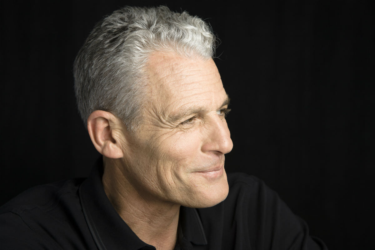 retouching older man portrait