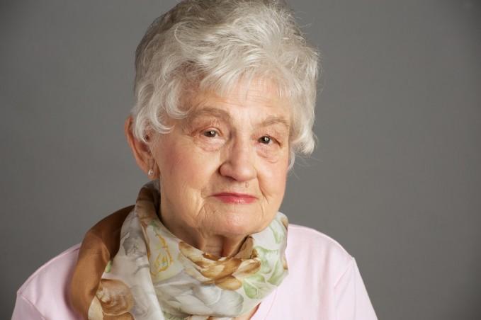 elderly portrait retouching