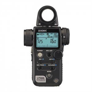 sekonic light meter