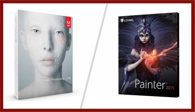 Corel Painter vs. Photoshop