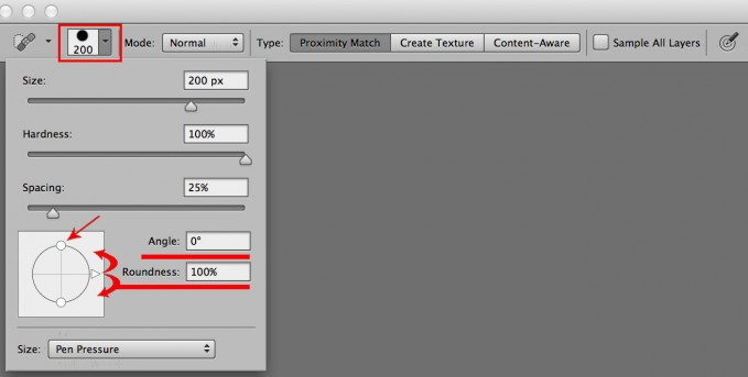 spot healing brush on photoshop how to