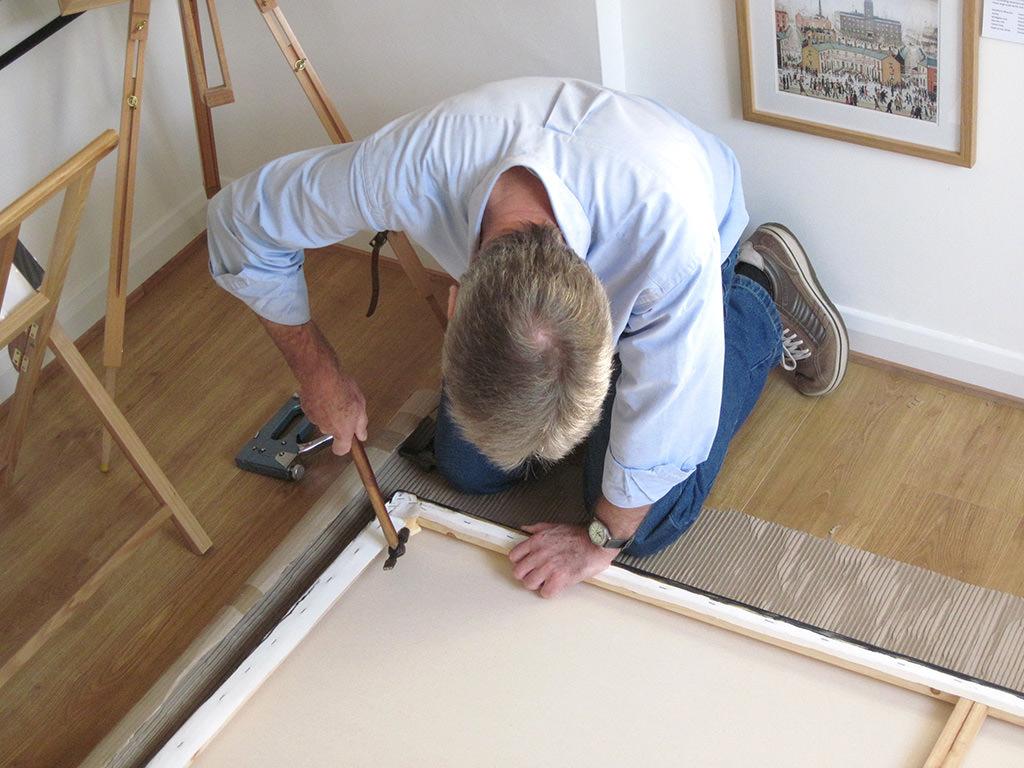 canvas sagging tips