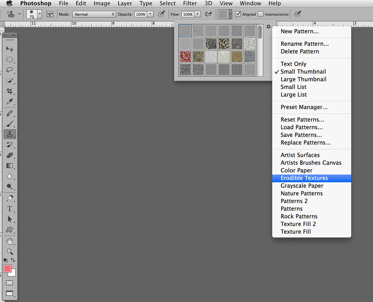 create patterns in photoshop