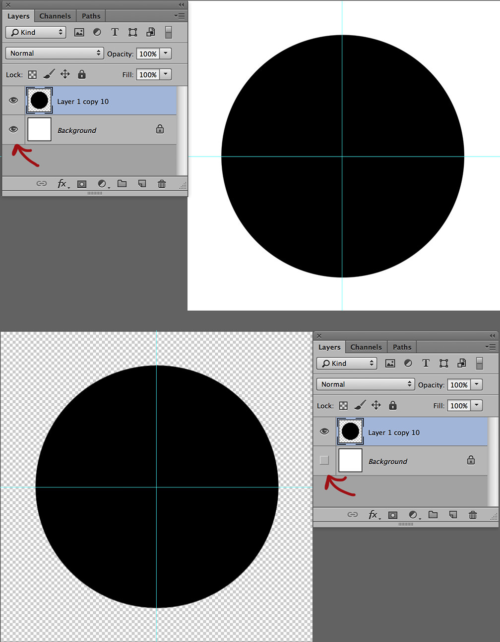 polka dots create patterns in photoshop