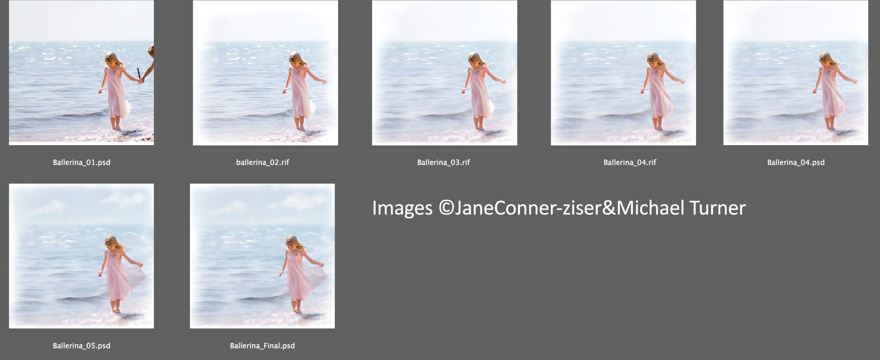 photo painting step by step
