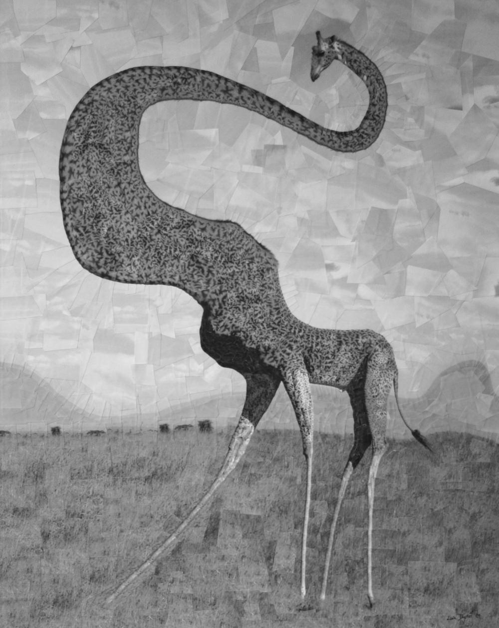 puppet warp giraffe