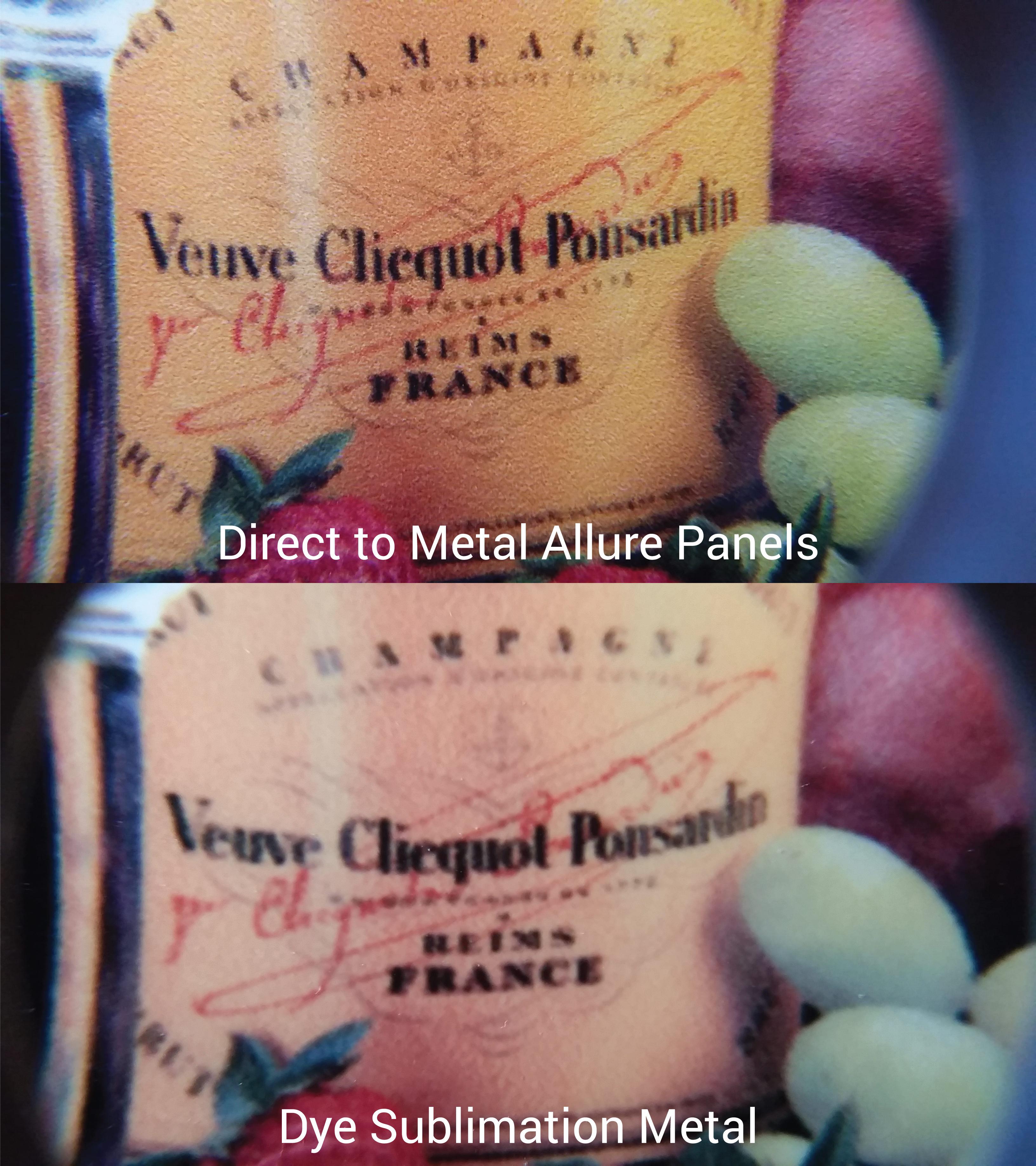 aqueous metal prints examples