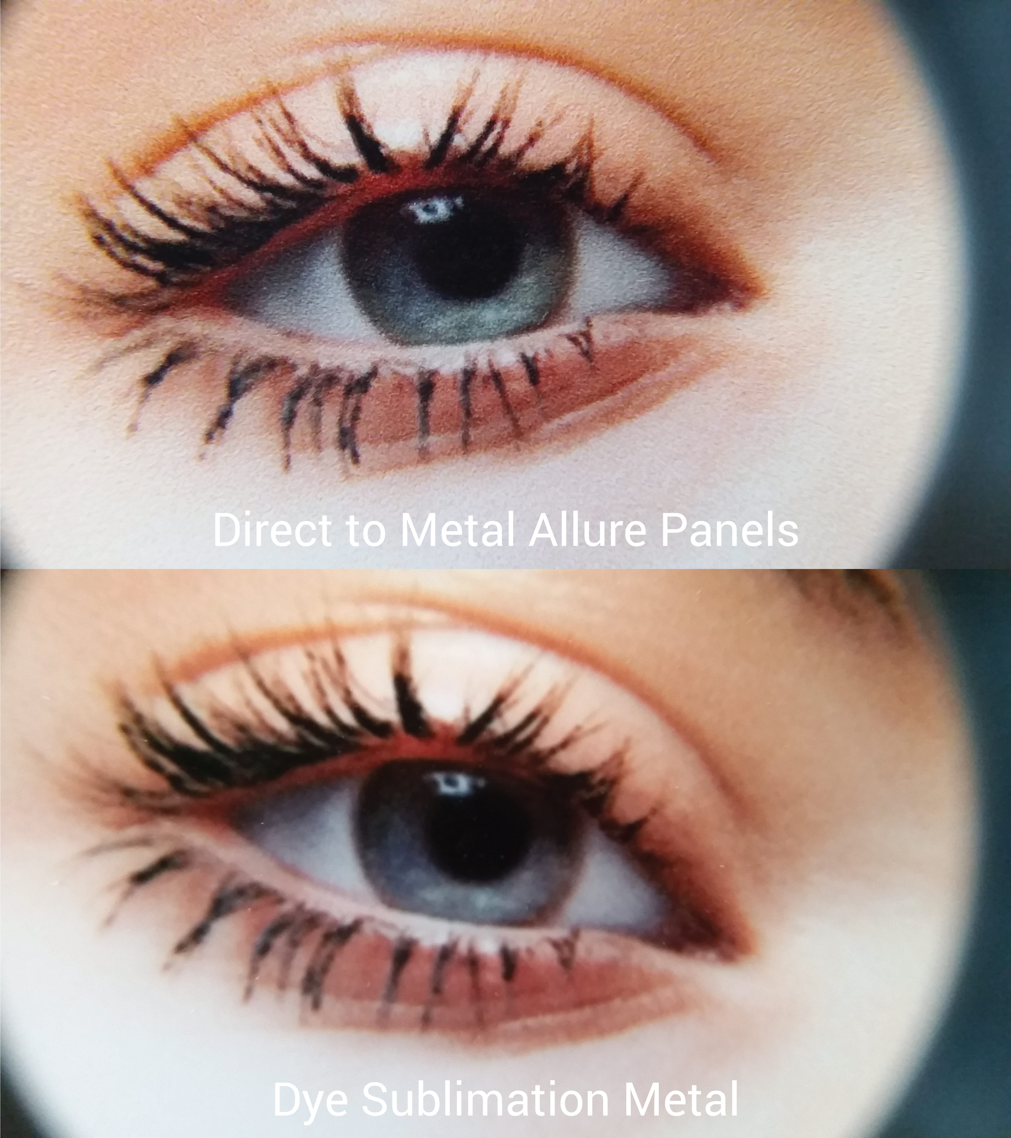 aqueous metal prints resolution