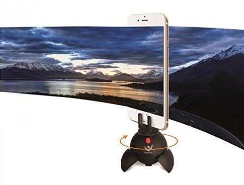 iPhone panoramas tripod legs