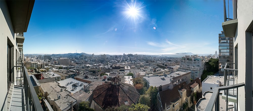 panoramas with phone hdr setting