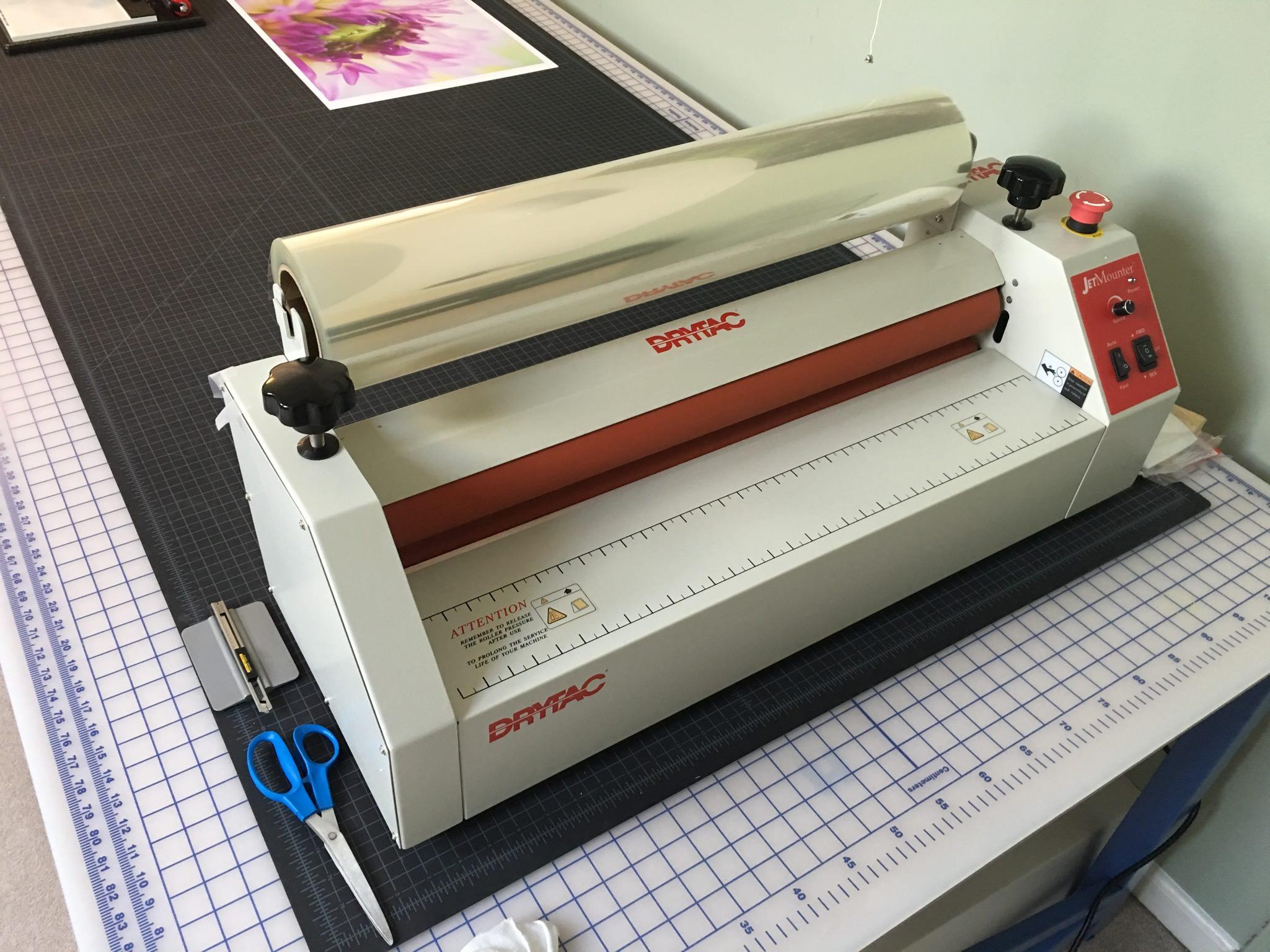 metal printing workflow drytac jetmounter 26