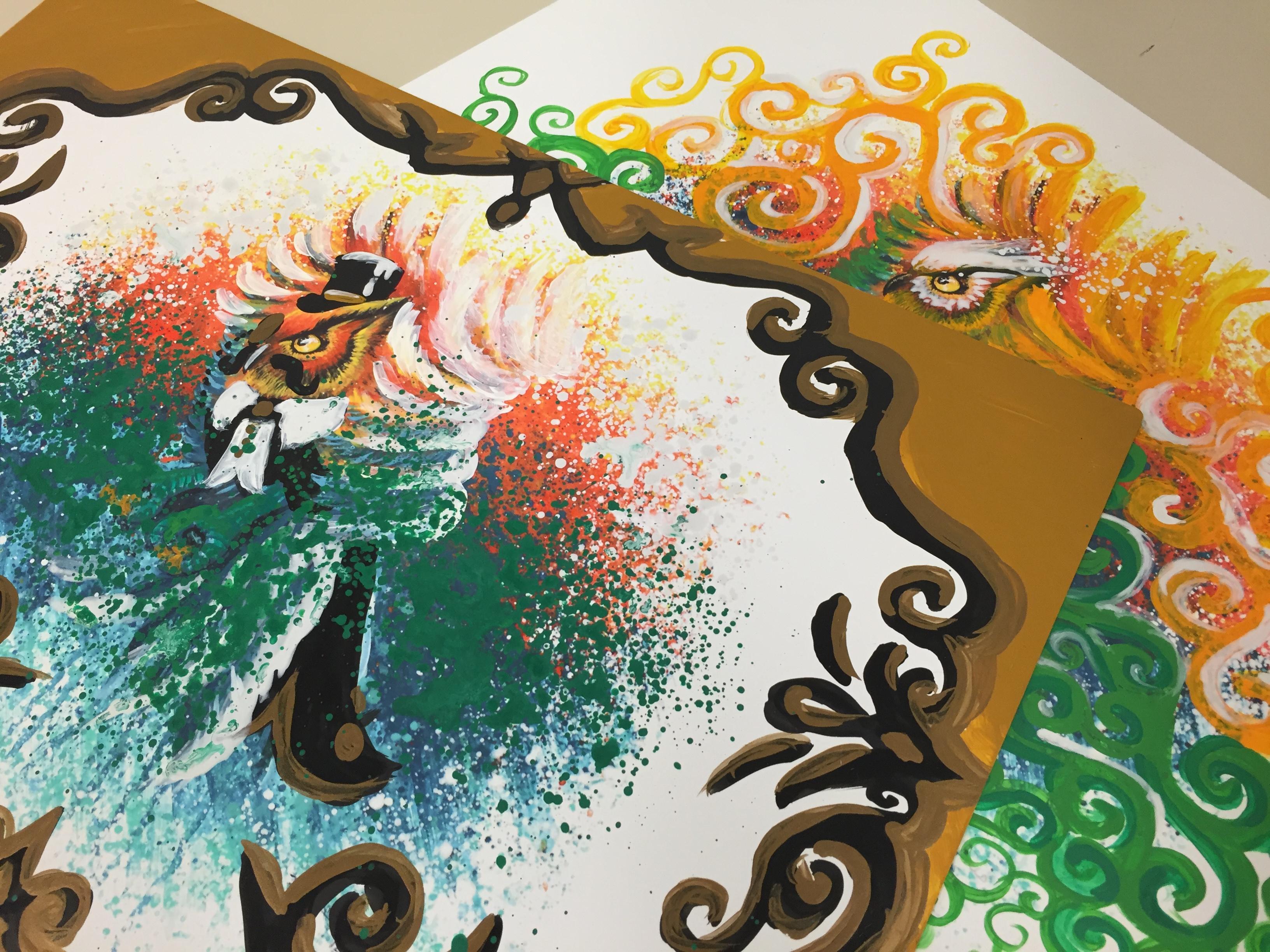 embellishing an art print selling buying