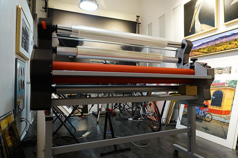 print on metal laminating