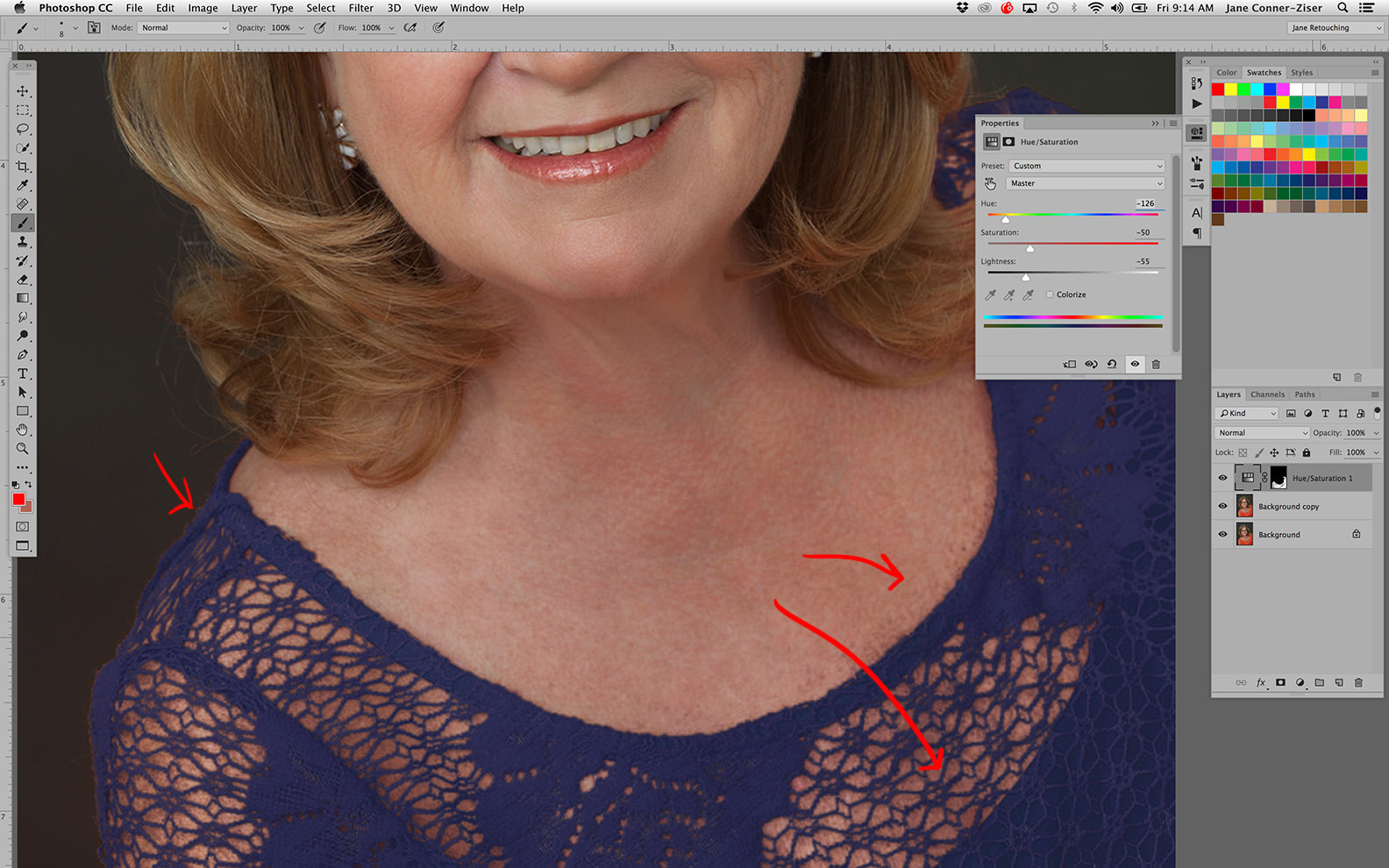 color range in photoshop details