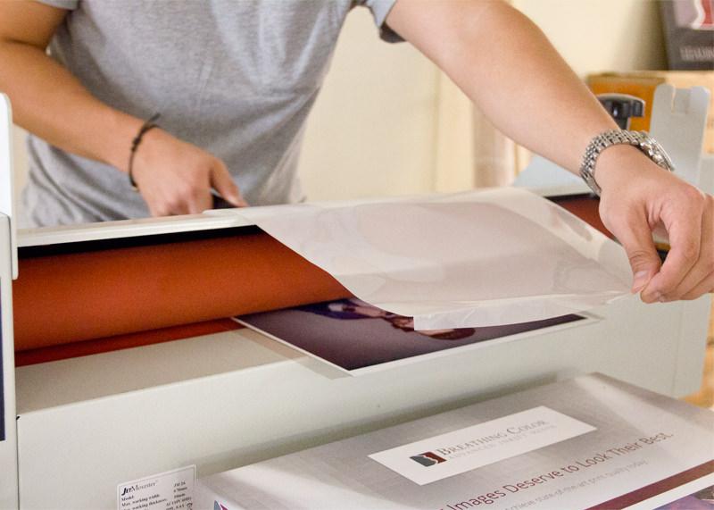 drytac cold roll laminator