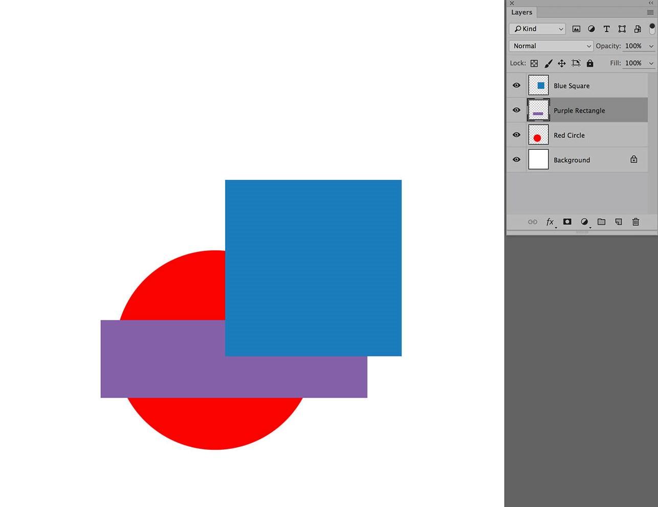 photoshop layers shape overlay