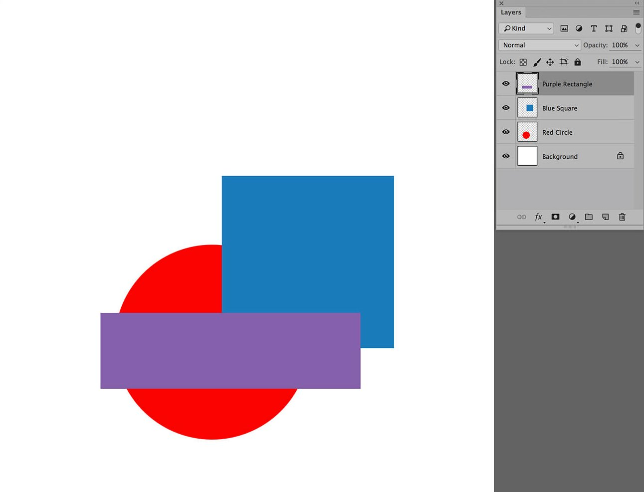 photoshop layers rearrange