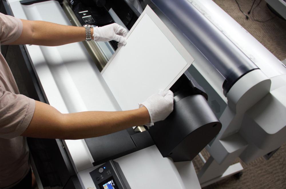 how to print on metal