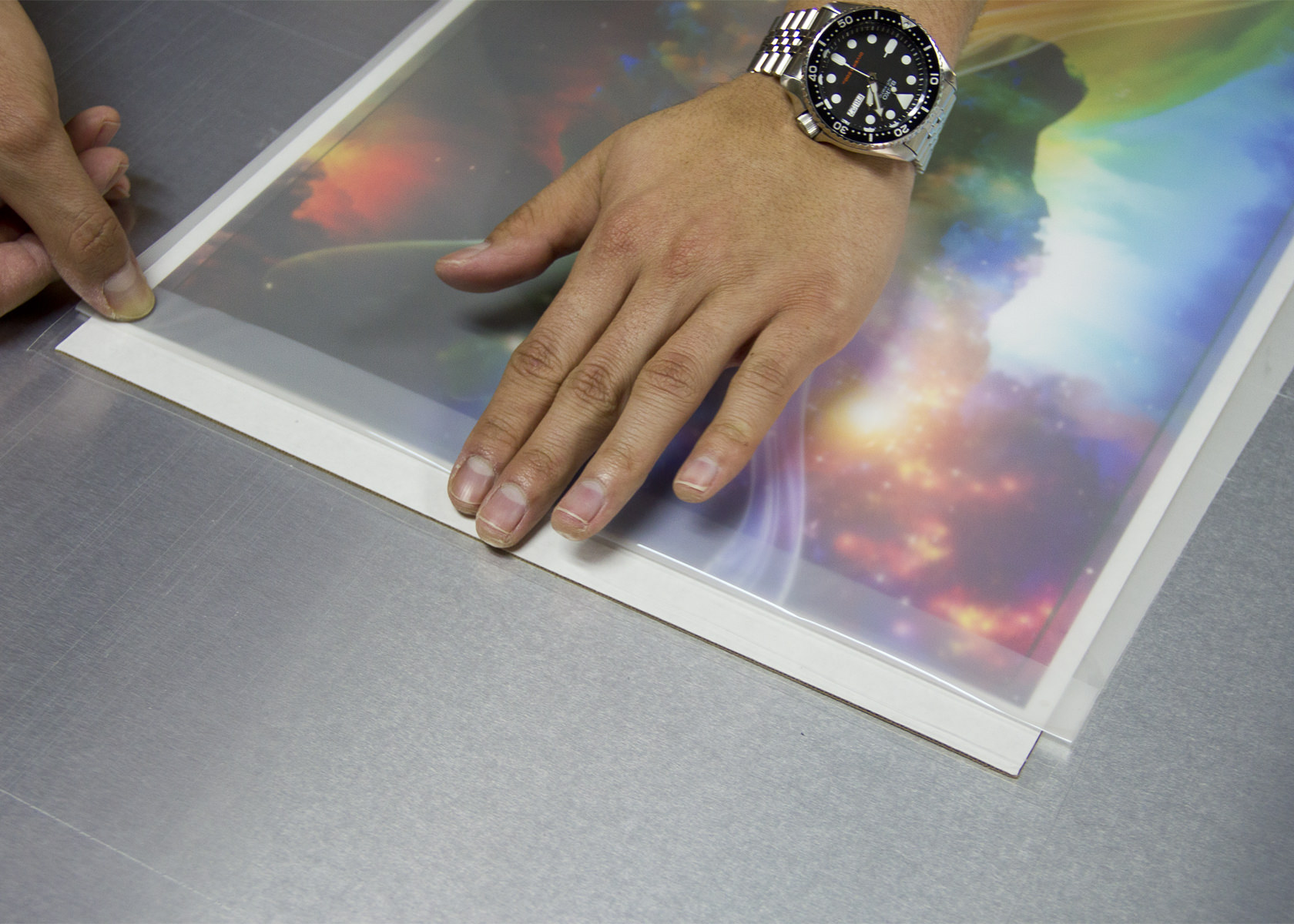 print on metal epson desktop printer
