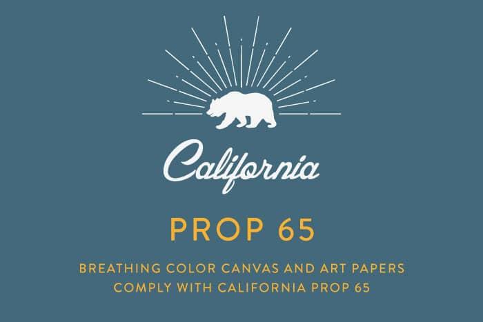 Prop 65 Compliant Canvas